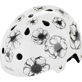 Electra Bike Casco Niños, flowers